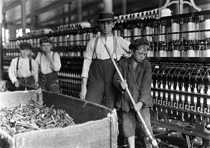 child labor and the second industrial This article, which is the second of a two-part series on child labor, describes legislative efforts to curtail the employment of children in the late 1800s and the first half of the 1900s.